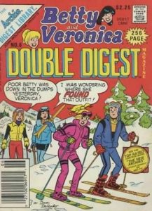 Betty and Veronica Double Digest Magazine #6 (1987)