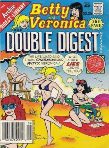 Betty and Veronica Double Digest Magazine #8 (1987)