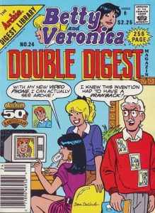 Betty and Veronica Double Digest Magazine #24 (1987)