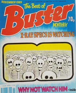 The Best of Buster Monthly #November 1989 (1987)