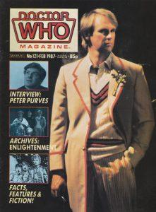 Doctor Who Magazine #121 (1987)