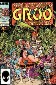 Sergio Aragonés Groo the Wanderer #24 (1987)