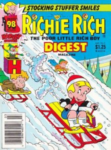 Richie Rich Digest Magazine #6 (1987)