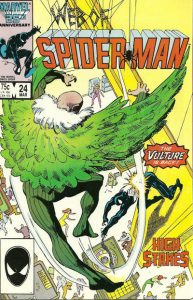 Web of Spider-Man #24 (1987)
