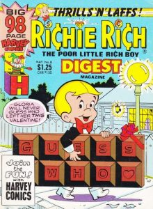 Richie Rich Digest Magazine #8 (1987)