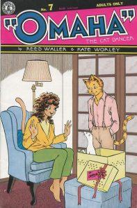 Omaha the Cat Dancer #7 (1987)