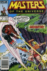 Masters of the Universe #8 (1987)