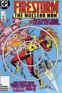 Firestorm the Nuclear Man #65 (1987)