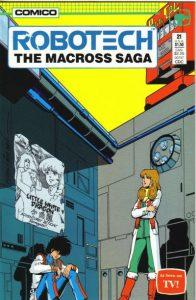 Robotech: The Macross Saga #21 (1987)