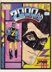 2000 AD #536 (1987)