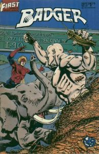 The Badger #27 (1987)