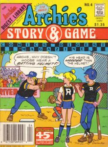 Archie's Story & Game Digest Magazine #4 (1987)