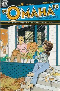 Omaha the Cat Dancer #8 (1987)