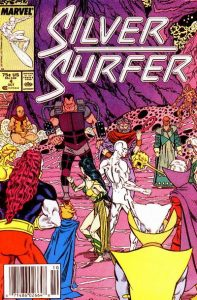 Silver Surfer #4 (1987)