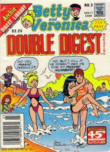 Betty and Veronica Double Digest Magazine #3 (1987)