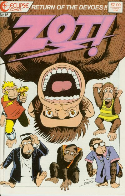 Zot! #16 (1987)