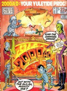 2000 AD #554 (1987)