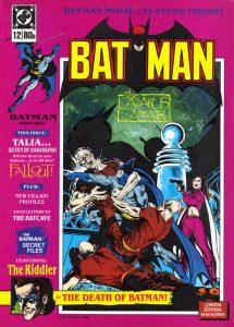 Batman Monthly #12 (1988)