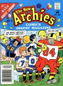 The New Archies Comics Digest Magazine #4 (1988)