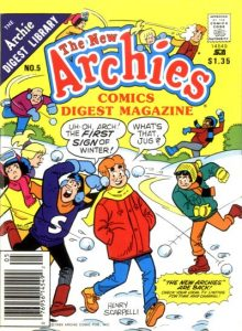 The New Archies Comics Digest Magazine #5 (1988)