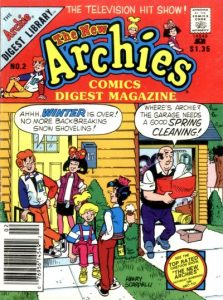 The New Archies Comics Digest Magazine #2 (1988)