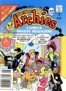 The New Archies Comics Digest Magazine #8 (1988)