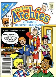 The New Archies Comics Digest Magazine #9 (1988)