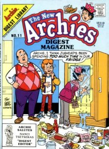 The New Archies Comics Digest Magazine #11 (1988)