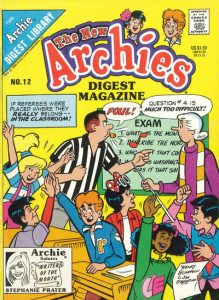 The New Archies Comics Digest Magazine #12 (1988)