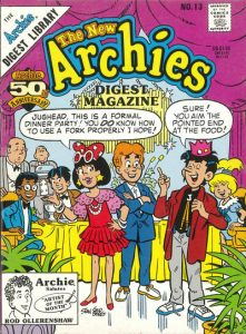 The New Archies Comics Digest Magazine #13 (1988)