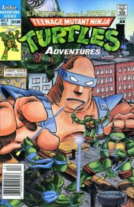 Teenage Mutant Ninja Turtles Adventures #3 (1988)