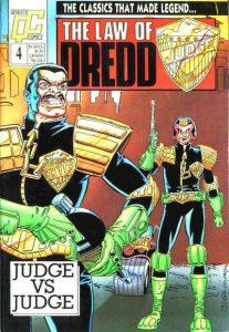 The Law of Dredd #4 (1988)
