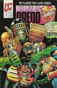 The Law of Dredd #3 (1988)