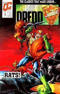 The Law of Dredd #5 (1988)