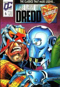 The Law of Dredd #6 (1988)