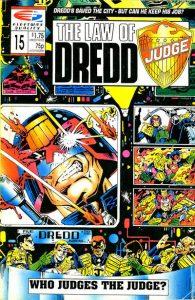 The Law of Dredd #15 (1988)