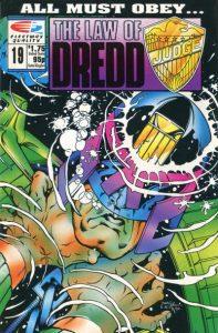 The Law of Dredd #19 (1988)