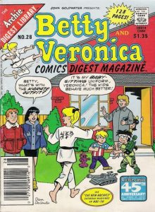 Betty and Veronica Comics Digest Magazine #28 (1988)