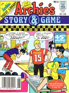 Archie's Story & Game Digest Magazine #6 (1988)