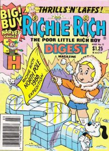 Richie Rich Digest Magazine #12 (1988)