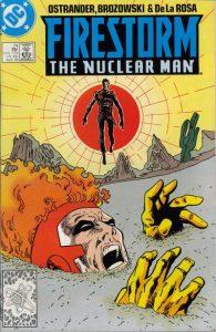 Firestorm the Nuclear Man #74 (1988)