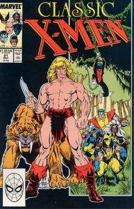 Classic X-Men #21 (1988)