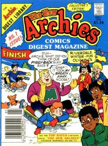 The New Archies Comics Digest Magazine #1 (1988)