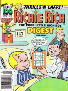 Richie Rich Digest Magazine #13 (1988)