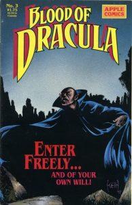 Blood of Dracula #3 (1988)