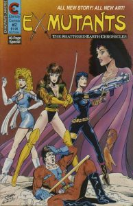 Ex-Mutants The Shattered Earth Chronicles #2 (1988)