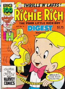 Richie Rich Digest Magazine #14 (1988)