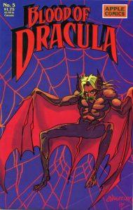 Blood of Dracula #5 (1988)