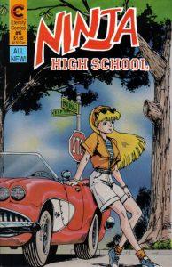 Ninja High School #6 (1988)