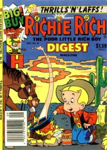 Richie Rich Digest Magazine #15 (1988)